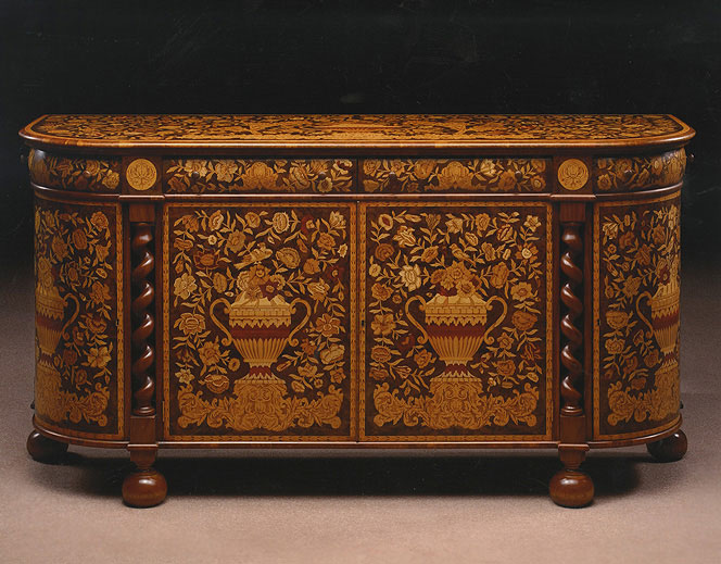 William and Mary cabinet